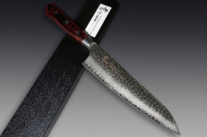 Sakai Takayuki 33-Layer VG-10 Damascus Hammered